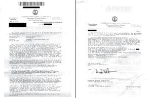DMV warning letter